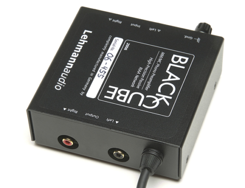 HIFI CLASSICS REVIEW: LEHMANN AUDIO BLACK CUBE PHONO PREAMP