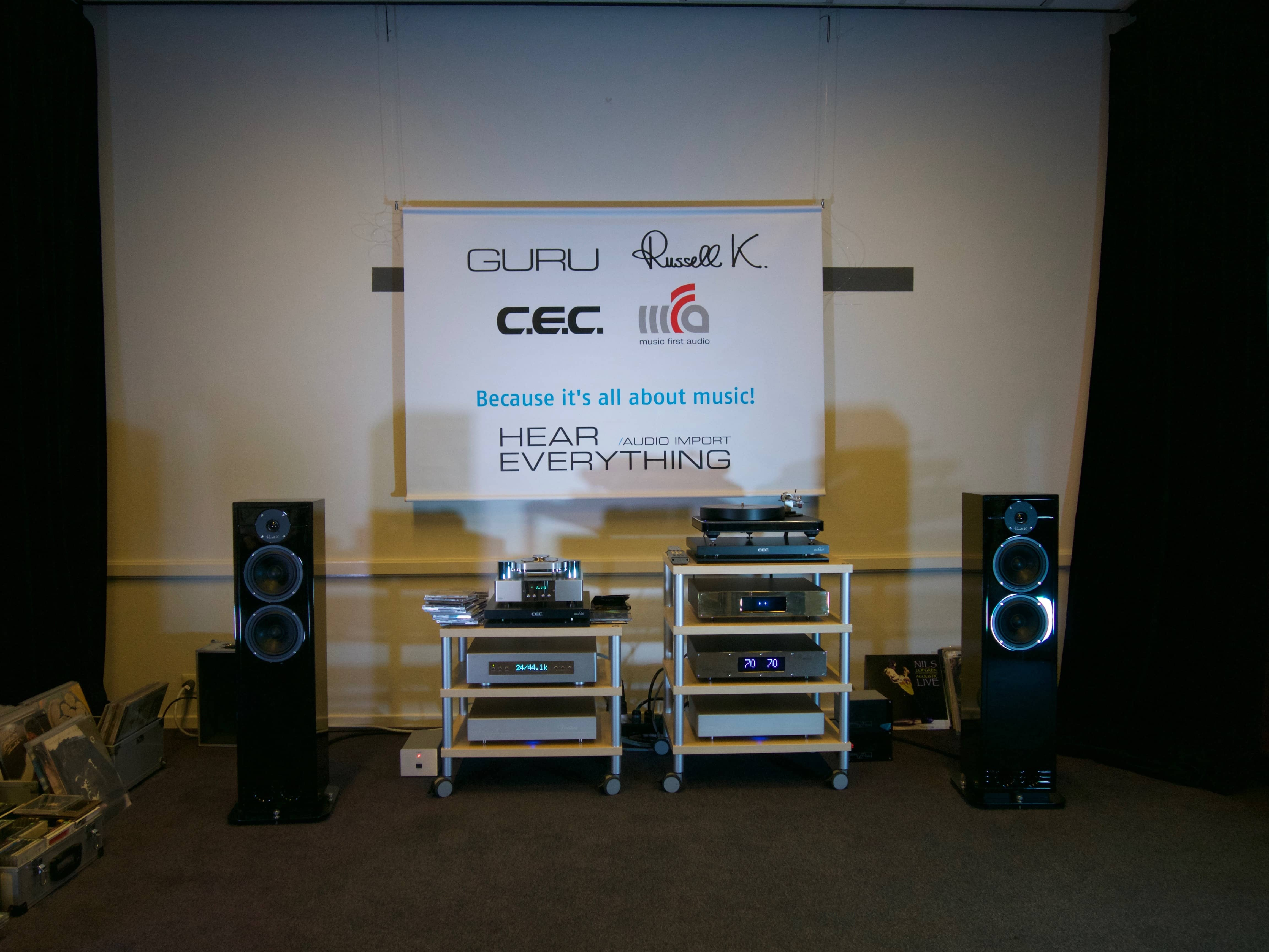 Hear Everything Audio - X-FI High End Audioshow 2016