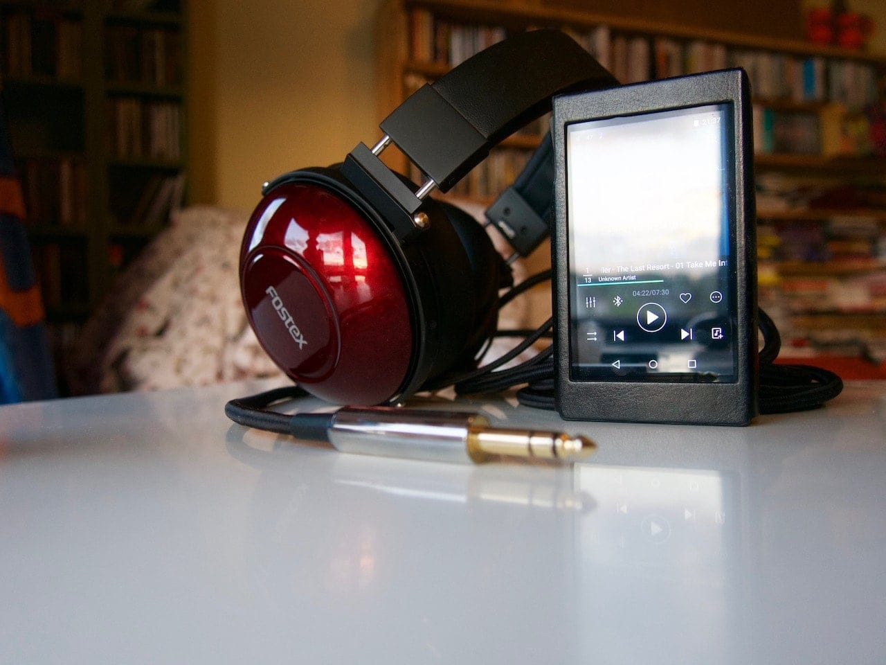 Fiio X5 III DAP with Fostex TH900