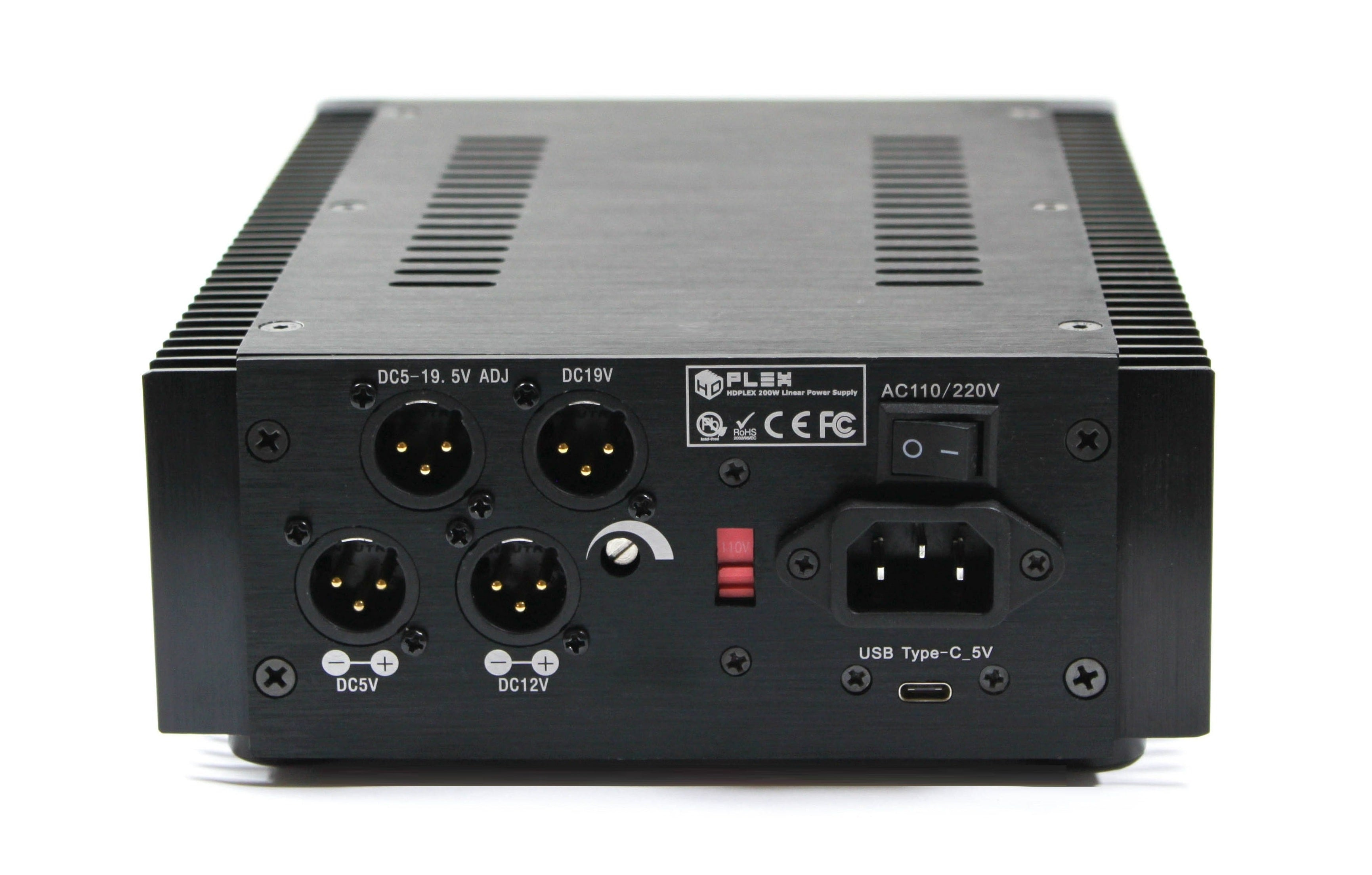 review HDPlex 200w linear power supply psu